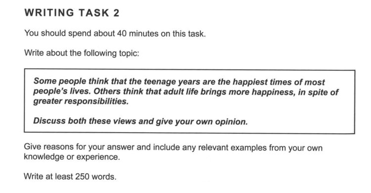 ielts essays model answers The topic below was seen in the academic ielts exam in australia, june 2011  general training writing task 2 you should spend about 40 minutes on this.